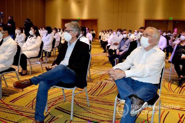 Sager felicitó a nuevos auxiliares en Enfermería y revalorizó el rol fundamental del personal sanitario en la pandemia