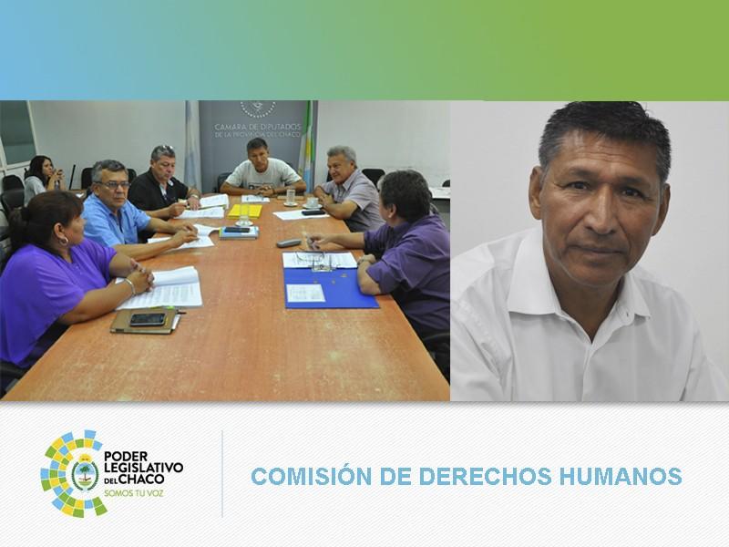 LA COMISIÓN DE DERECHOS HUMANOS SE CONSTITUIRÁ EN VILLA ÁNGELA POR EL CASO MAIRA BENÍTEZ