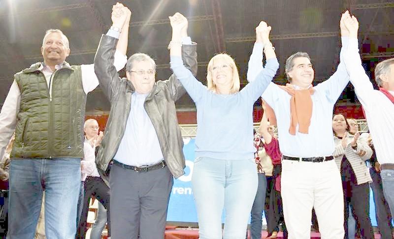 EL PRESIDENTE DEL PJ, ADALBERTO PAPP, PARTICIPÓ DEL LANZAMIENTO DE CAMPAÑA DEL FCHMM