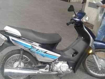 RECUPERAN MOTO Y TUBO DE GAS