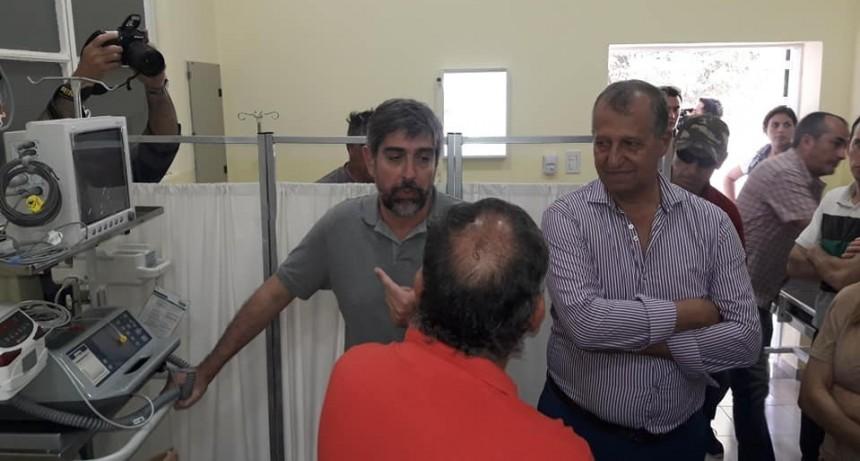 EL INTENDENTE PAPP CELEBRO QUE SE HAYA TERMINADO UNA OBRA LARGAMENTE ESPERADA EN EL HOSPITAL