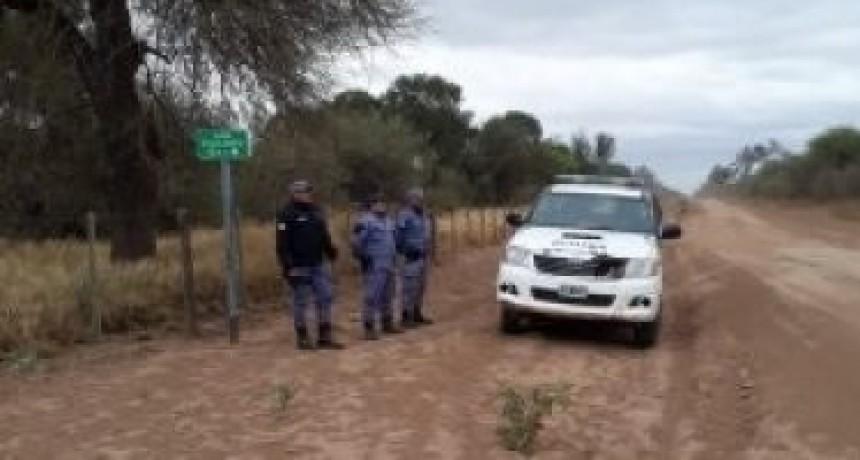 ARROJARON UNOS ELEMENTOS Y HUYERON CUANDO VIERON UN CONTROL POLICIAL