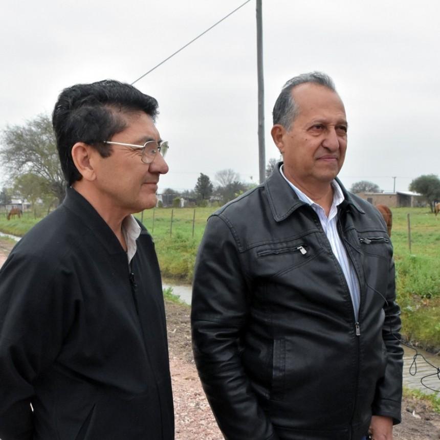 PAPP SUPERVISÓ EL RIPIADO DE CALLE SANTA FE, DESDE MONTEAGUDO HASTA EL BARRIO CENTENARIO