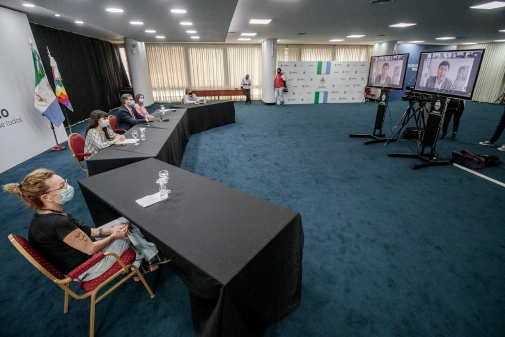 CAPITANICH ANUNCIÓ JUNTO AL MINISTRO ARROYO LA REMODELACIÓN DE CUATRO CENTROS DE FORTALECIMIENTO FAMILIAR