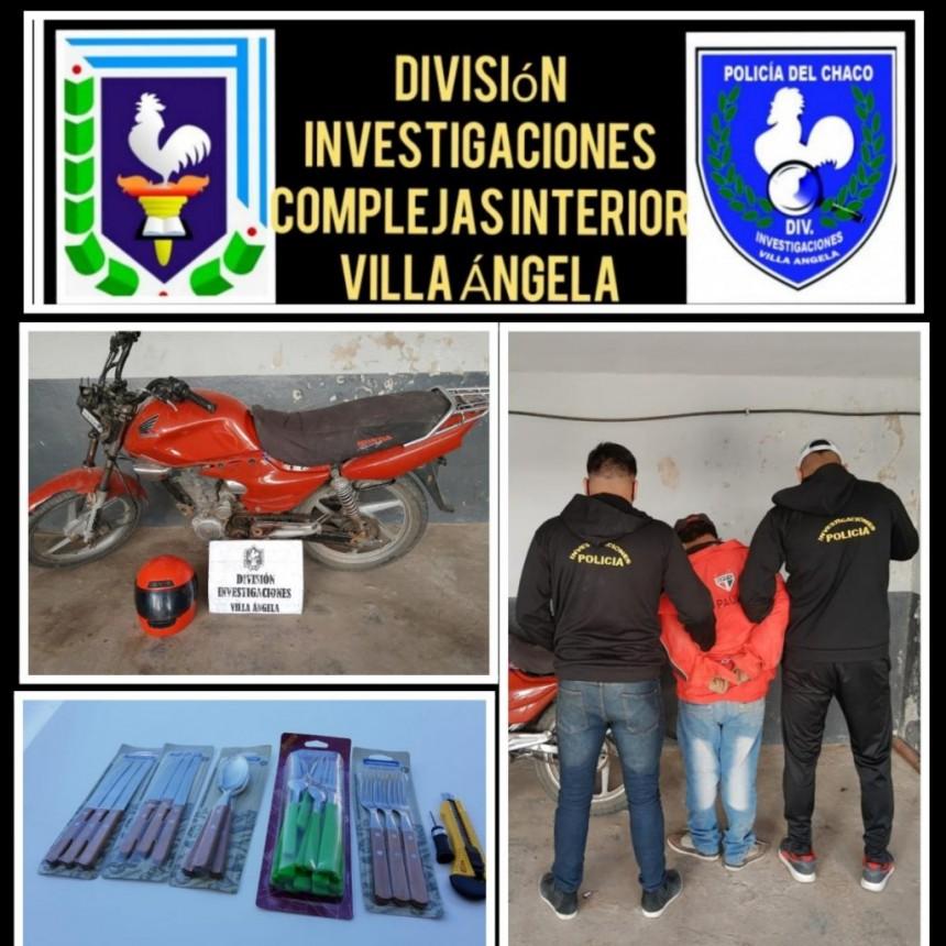 """PERSONAL DE INVESTIGACIONES ATRAPO A """"NEGU"""" ORDOÑEZ CON LAS MANOS EN LA MASA"""
