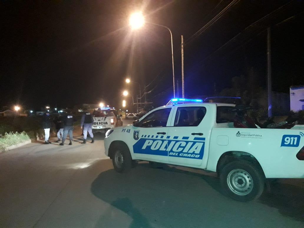 INTERCAMBIO DE DISPAROS ENTRE PERSONAL POLICIAL Y UN DELINCUENTE COM FRONDOSO PRONTUARIO