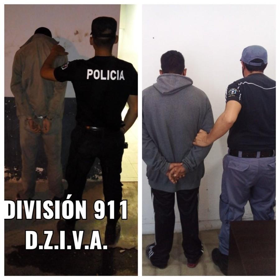 """""""GALLO"""" Y EL """"GORDO VALOR"""" DETENIDOS POR PERSONAL POLICIAL CUANDO DESVALIJABAN UNA VIVIENDA"""
