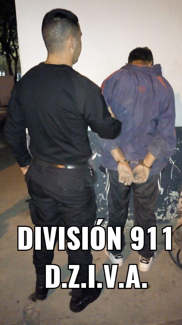 """PERSONAL DEL 911 DETUVO A """"DUENDE"""
