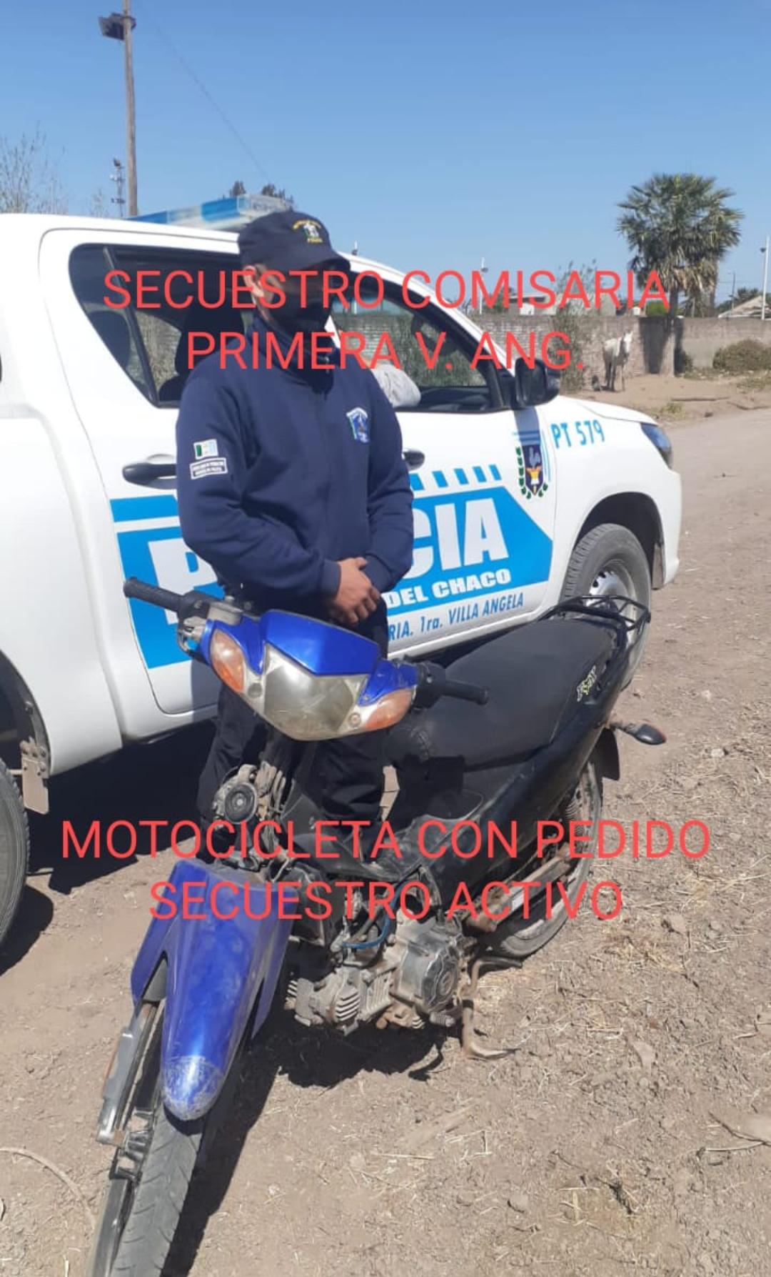 EVADIÓ UN CONTROL POLICIAL Y DEJO ABANDONADA UNA MOTOCICLETA QUE LA HABÍAN SUSTRAIDO EN EL 2018