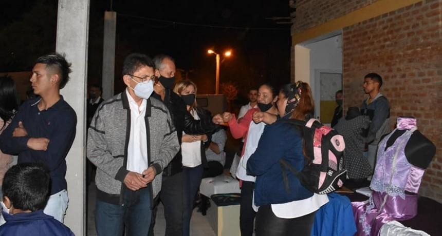 EL INTENDENTE PAPP PARTICIPÓ EN LA EXPO EDUCATIVA DE LA ESCUELA