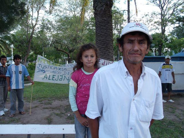 A CINCO AÑOS DE LA DESAPARICIÓN DE SU HIJO HECTOR BENITEZ SIGUE PIDIENDO JUSTICIA