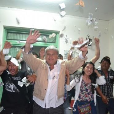 EL VOTO POPULAR RESPALDÓ LA GESTIÓN DE MIGUEL SOTELO EN SAN BERNARDO