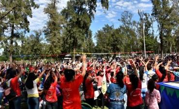CON EL ACOMPAÑAMIENTO DEL MUNICIPIO, LA INFANCIA Y ADOLESCENCIA MISIONERA CELEBRÓ SUS 20 AÑOS EN VILLA ÁNGELA