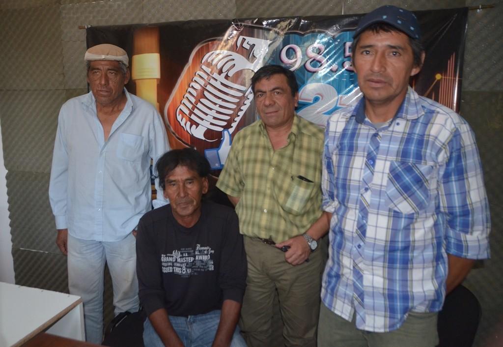 """RENE VERON: """"ESTAS HERRAMIENTAS ERAN PARA TRABAJO COMUNITARIO, NO PARA REPARTIR"""""""