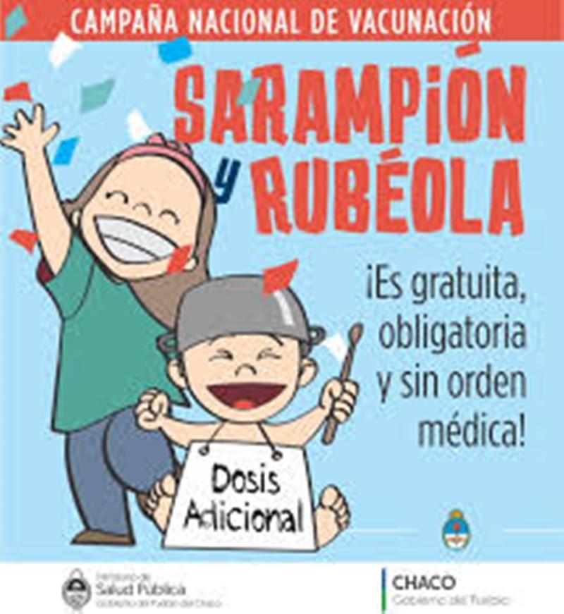 CAMPAÑA NACIONAL DE VACUNACIÓN CONTRA EL SARAMPIÓN Y LA RUBEOLA