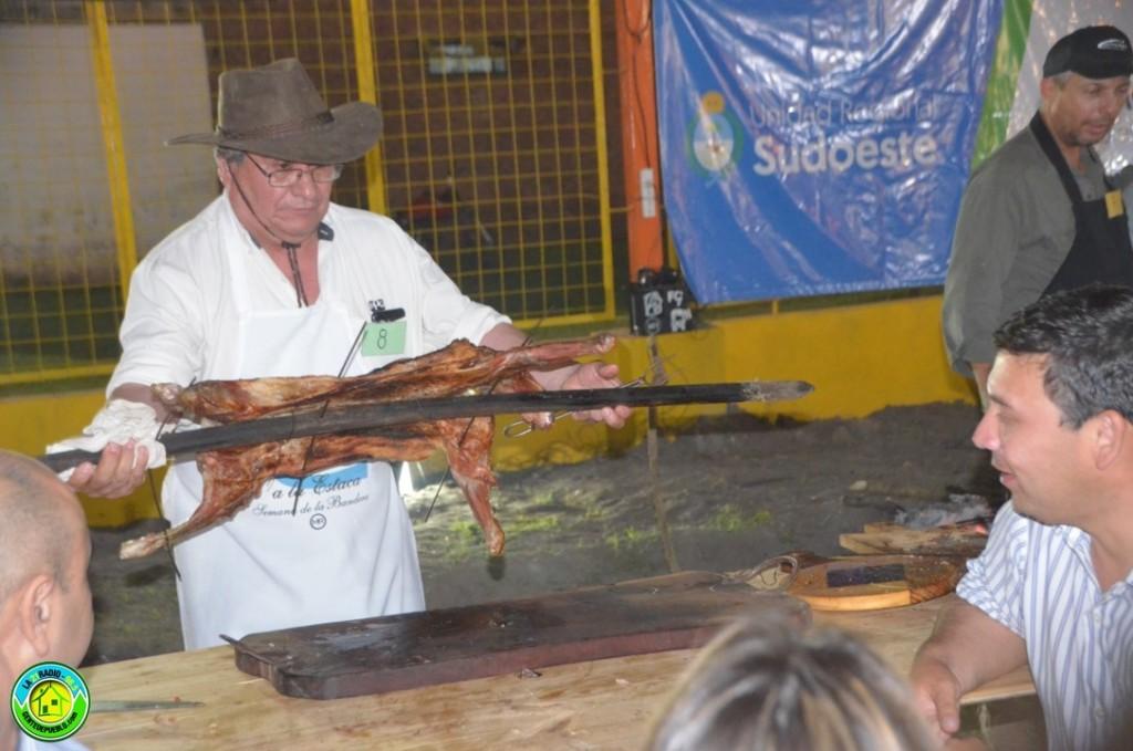 JORGE GÓMEZ EL REPRESENTANTE DE SAN BERNARDO EN EL CONCURSO DE CHIVO A LA ESTACA