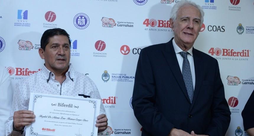 EL HOSPITAL DE HERMOSO CAMPO BENEFICIADO CON UNA DONACIÓN DE BIFERDIL