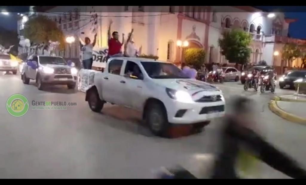 """MULTITUDINARIA CARAVANA DE CIERRE DE CAMPAÑA DE LA LISTA 653 """"CHACO SOMOS TODOS"""""""