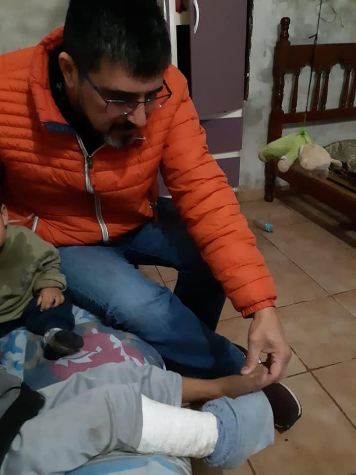 """GUSTAVO HERRERA: """"NECESITAMOS UNA CIUDAD QUE TENGA SALUD SEGURIDAD Y TRANSPORTE"""""""