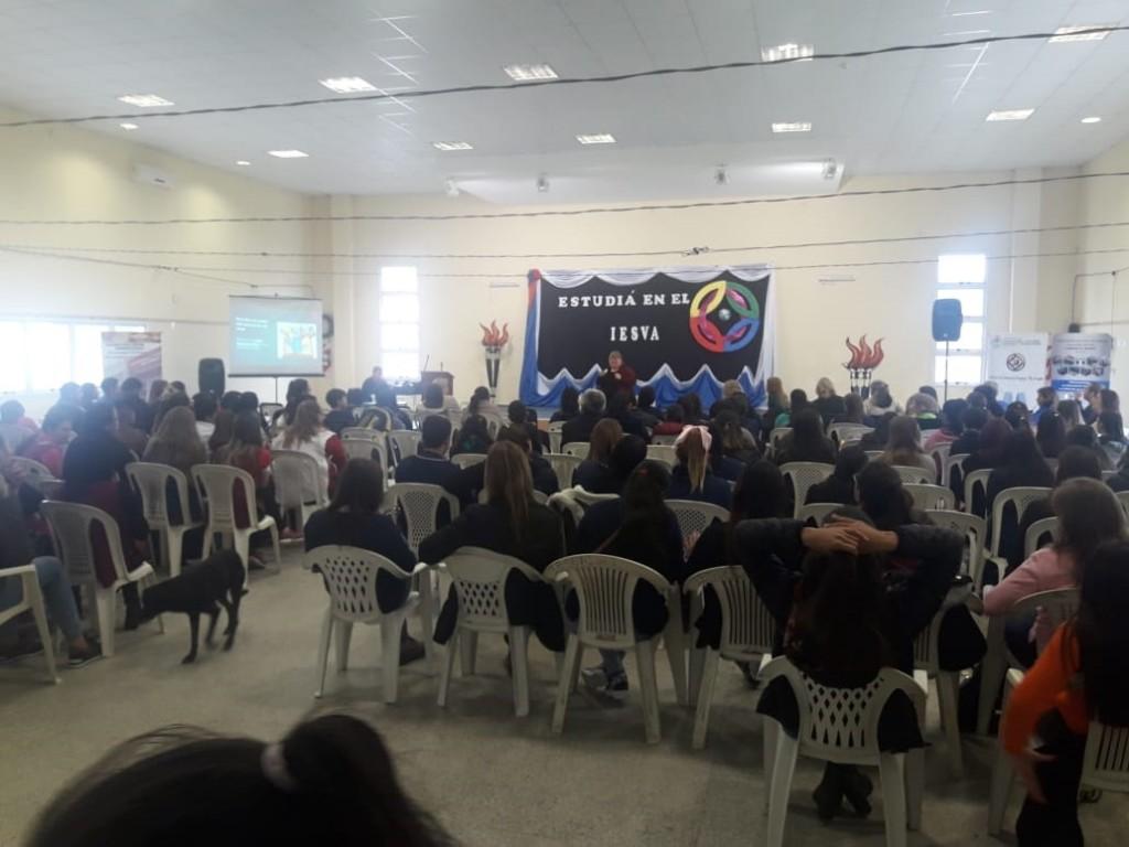 COMENZÓ LA SEGUNDA EXPO EDUCATIVA  DEL IESVA