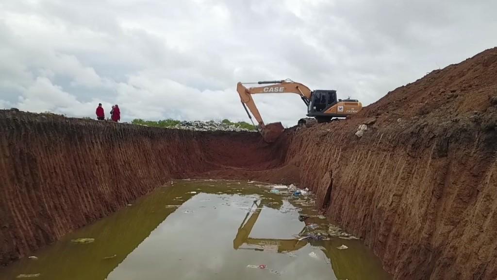 EL MUNICIPIO REALIZÓ LA CONSTRUCCIÓN DE UNA FOSA EN LA PLANTA GIRSU
