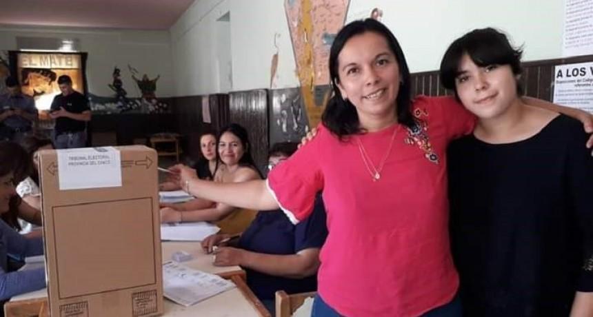 CON EL 70,33 % DE LOS VOTOS ENRIQUE URIEN VOLVIÓ A ELEGIR A LILIANA PASCUA