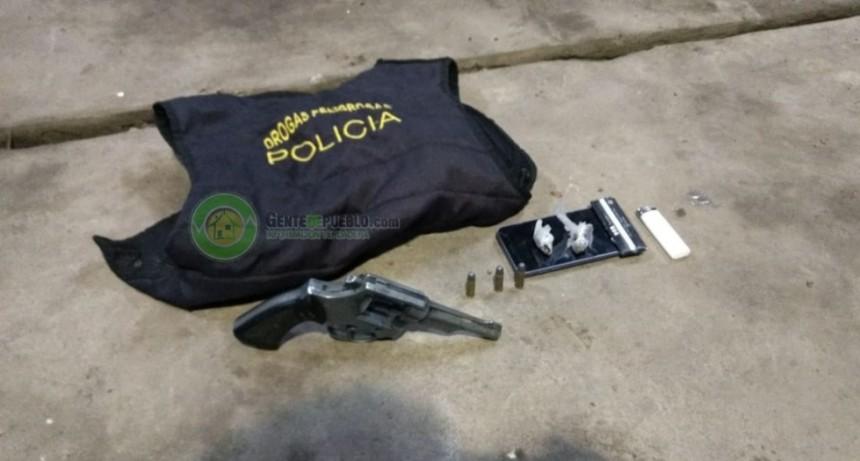 SECUESTRO DE DROGA Y ARMA DE FUEGO EN EL CAMPING MUNICIPAL