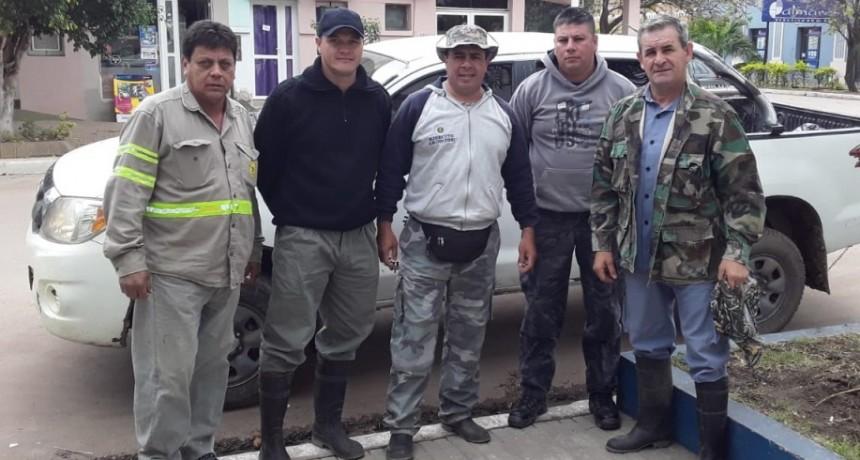 PARTIÓ UNA COMISIÓN POLICIAL EN BUSCA DE LOS PESCADORES PERDIDOS EN SANTA FE