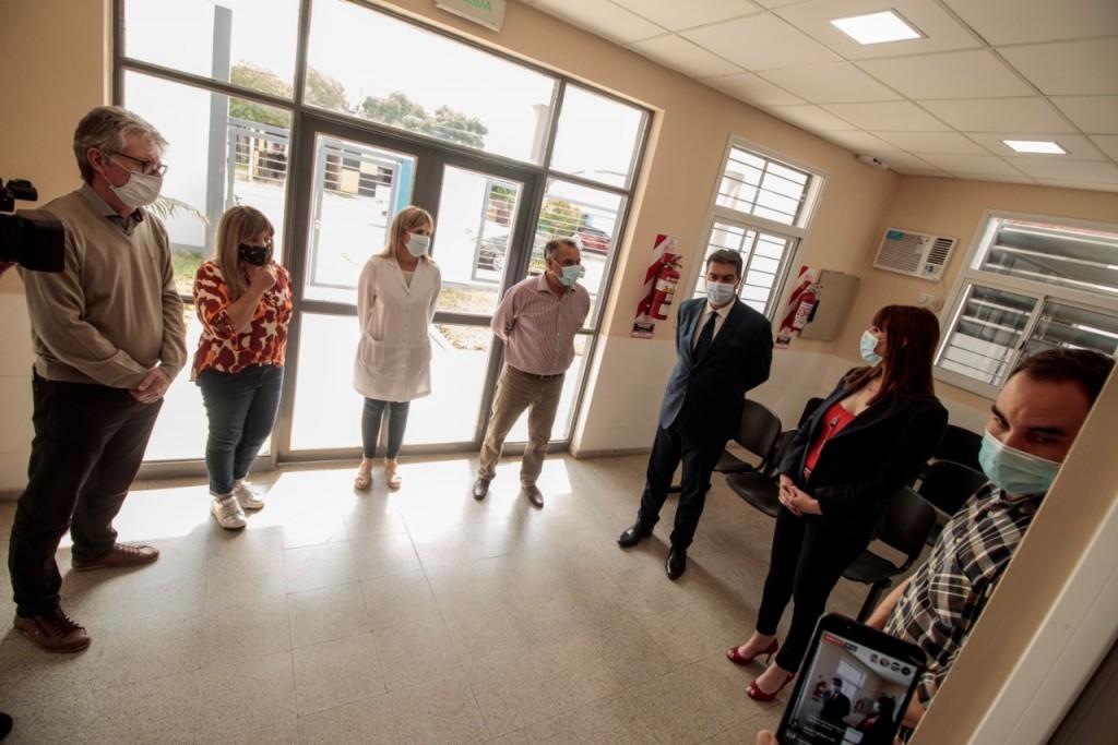 EL GOBIERNO INAUGURÓ LA SEGUNDA ETAPA DE REFACCIONES DEL HOSPITAL DE LA LEONESA