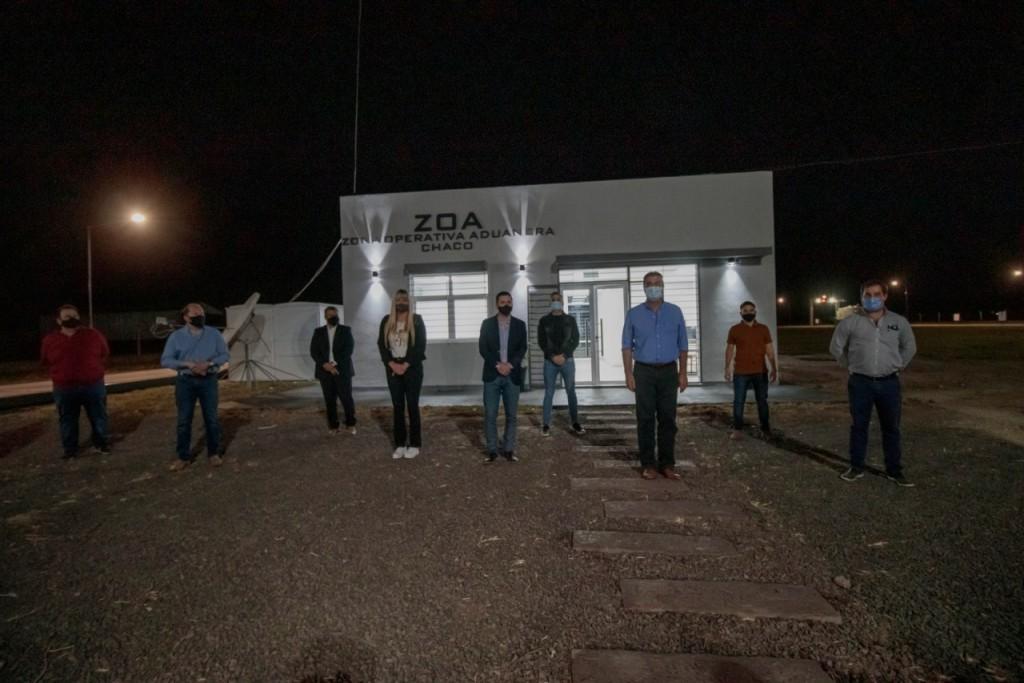 CAPITANICH INAUGURÓ REMODELACIONES EN LAS OFICINAS DE LA ZONA OPERATIVA ADUANERA DE SÁENZ PEÑA