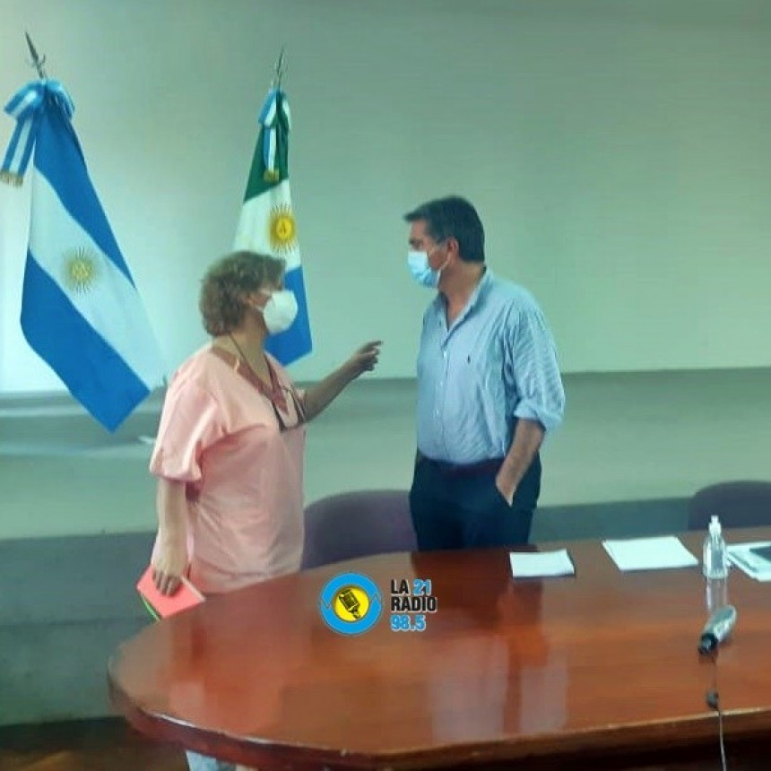 EL GOBERNADOR RECIBIO LOS PLANTEOS Y PEDIDOS DE LA DOCTORA MIRIAN TOURN