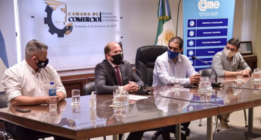 CONSENSO SOCIAL: EL GOBIERNO Y EL SECTOR EMPRESARIAL ACUERDAN ACCIONES PARA EVITAR CORTES DE CALLES QUE AFECTAN LA ACTIVIDAD COMERCIAL