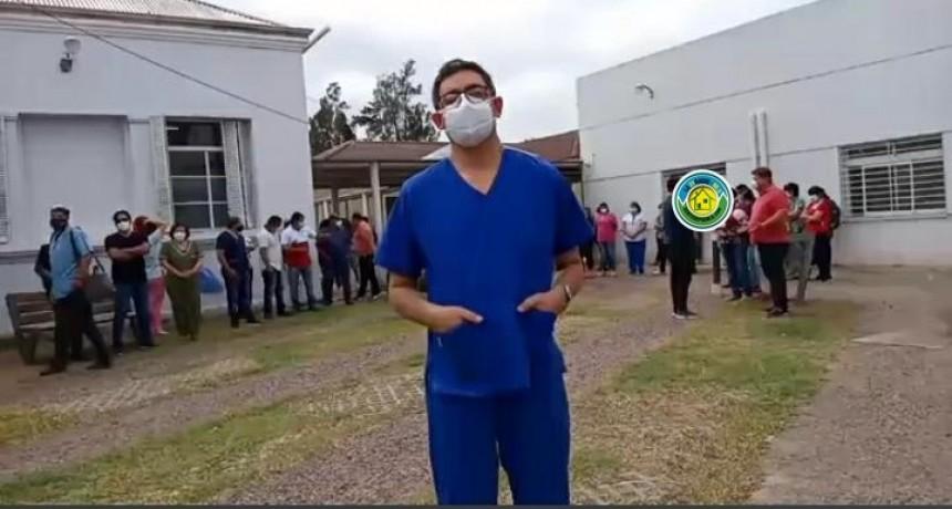 """""""NO ESTA GARANTIZADA LA ATENCIÓN ADECUADA, TANTO PARA LOS PACIENTES COMO PARA EL PERSONAL DE SALUD"""""""