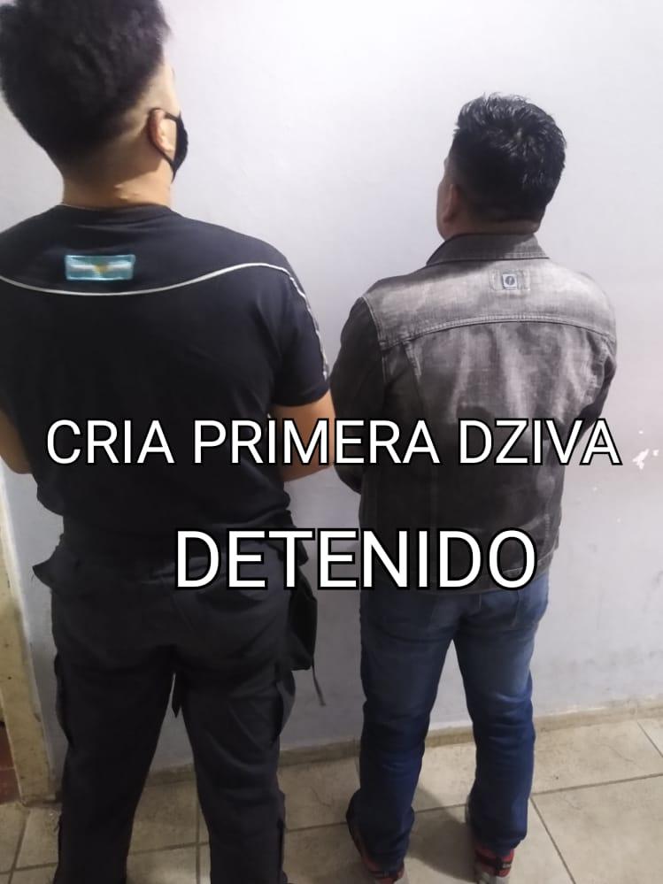 PERSONAL DE COMISARIA PRIMERA DETUVO A UN HOMBRE DE 37 AÑOS INVOLUCRADO EN UNA CAUSA DE AMENAZAS