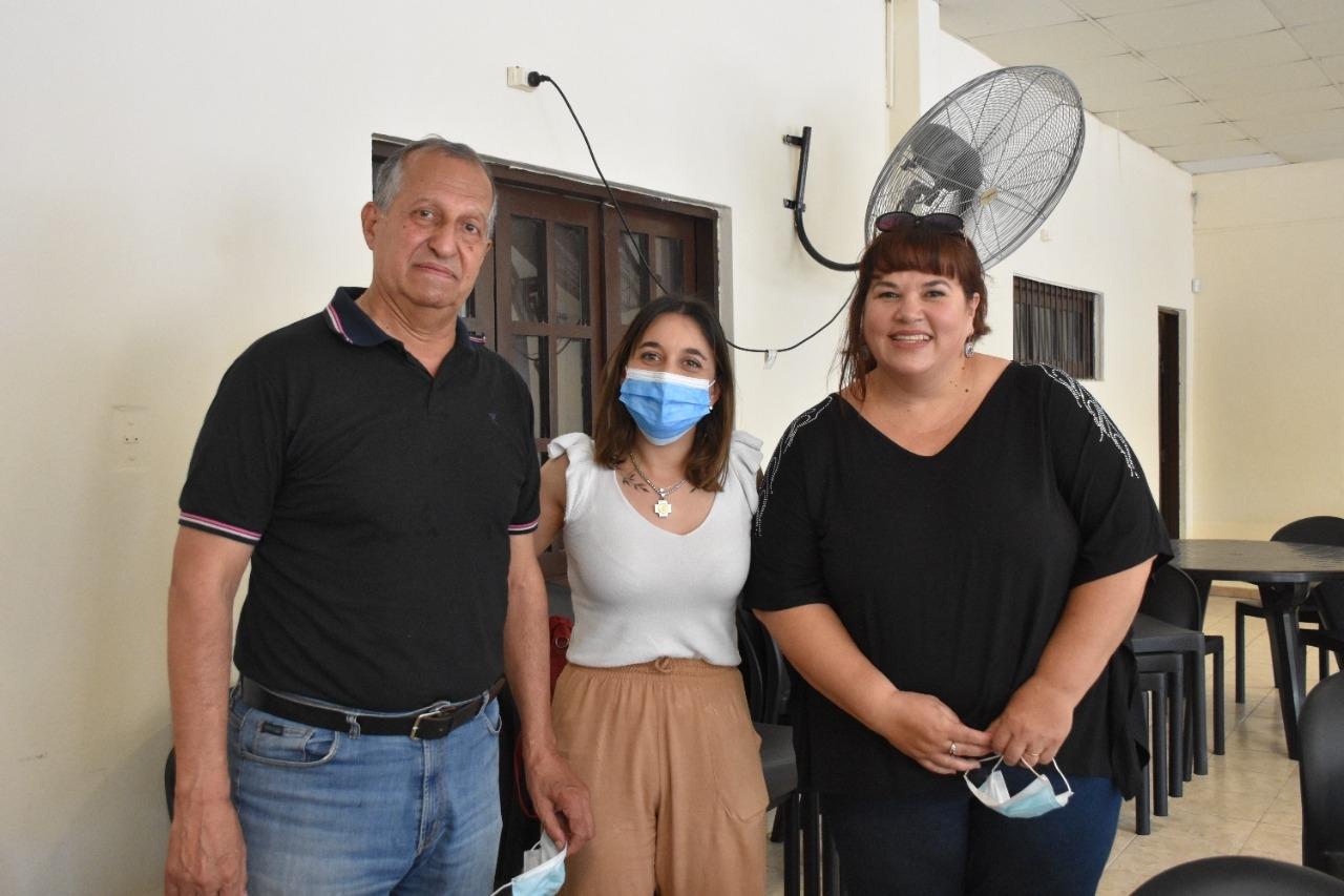 PAPP Y LA MINISTRA CHIACCHIO CAVANA REABRIERON EL CENTRO DE JUBILADOS DE VILLA ÁNGELA