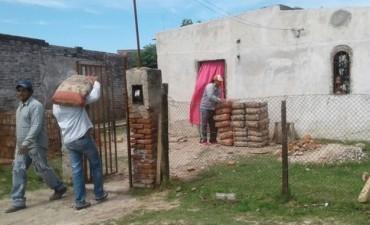 LA MUNICIPALIDAD ASISTIÓ A MÁS DE 72 FAMILIAS AFECTADAS POR LA ÚLTIMA TORMENTA