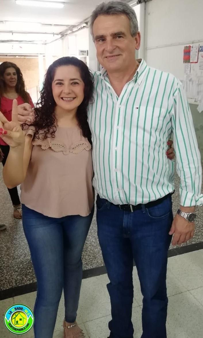 AGUSTÍN ROSSI JUNTO A LILIAN MAROLO VISITARON COMERCIOS DE SÁENZ PEÑA