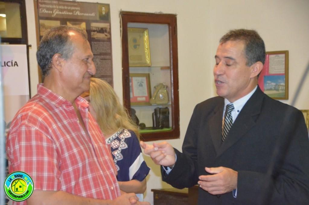 EL INTENDENTE ADALBERTO PAPP PARTICIPO DE LA APERTURA DE LA MUESTRA EN EL MUSEO LOCAL