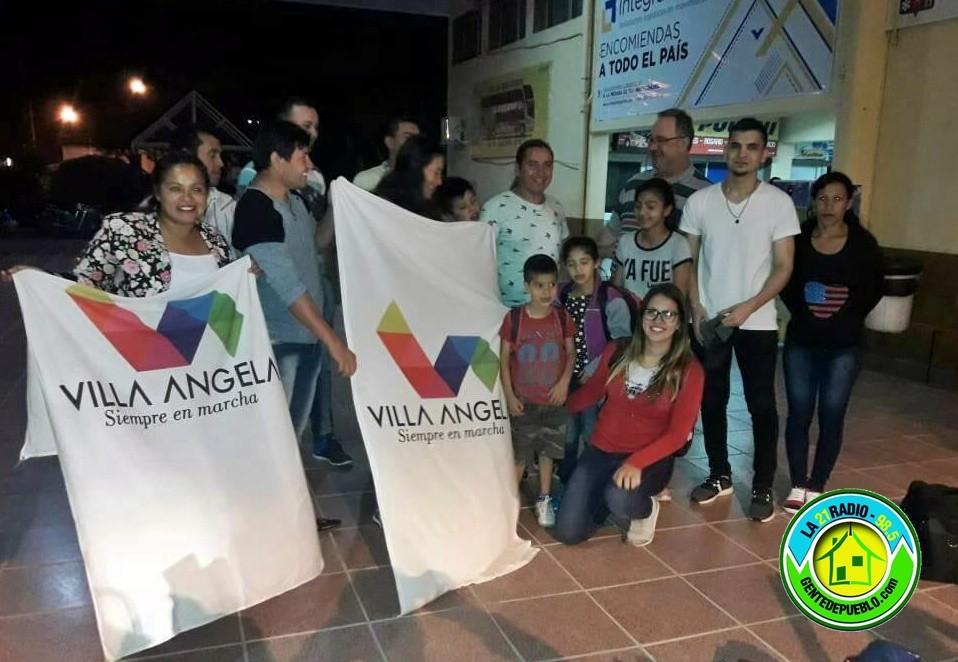 LOS 15 ALUMNOS VILLANGELENSE VIAJARON AL MUNDIAL DE ARTES MARCIALES