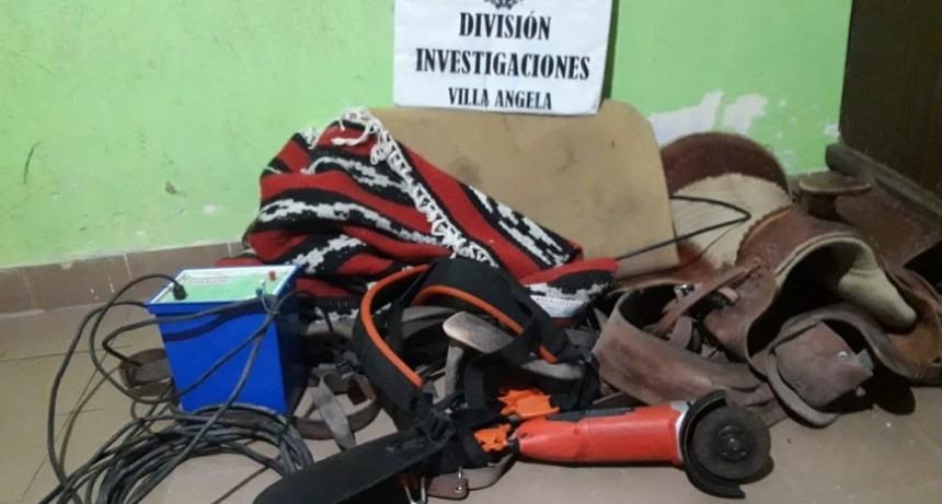 MIENTRAS EXPONÍA EN LA MUESTRA DEL INTA INGRESARON Y LE ROBARON PERO INVESTIGACIONES ESCLARECIÓ EL CASO