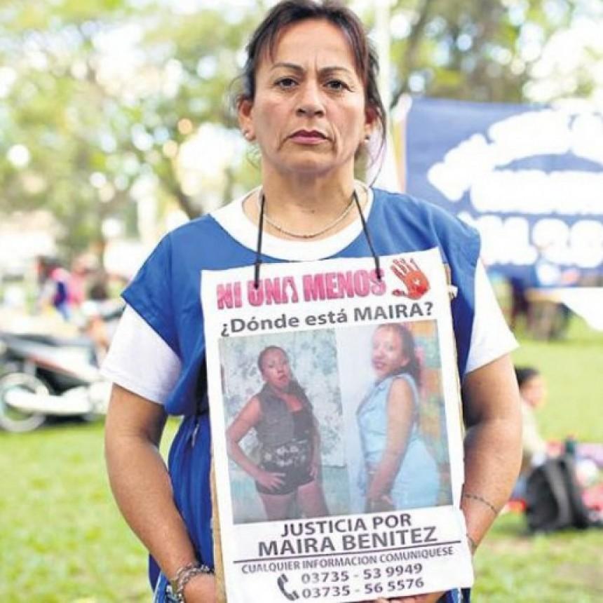 ANTONIA, LA MAMÁ DE MAIRA BENÍTEZ, RECLAMA QUE LE ENTREGUEN LOS RESTOS DE SU HIJA