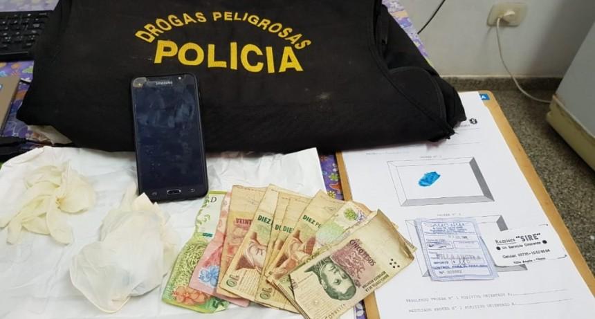 UNA MUJER EMBARAZADA TRANSPORTABA 121 GRAMOS DE COCAINA EN SU VAGINA