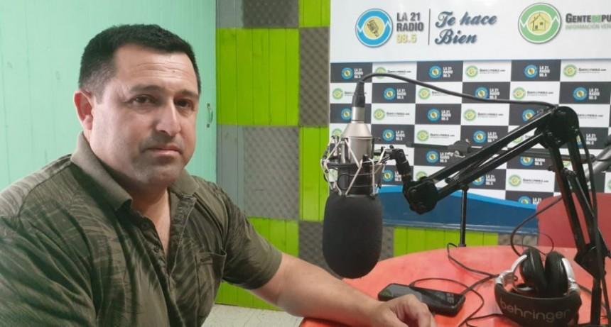 """EL COMISARIO GUSTAVO VÁZQUEZ EXPLICÓ EL MÉTODO DELICTIVO DE """"EMPONCHE"""" DE MOTOCICLETAS"""
