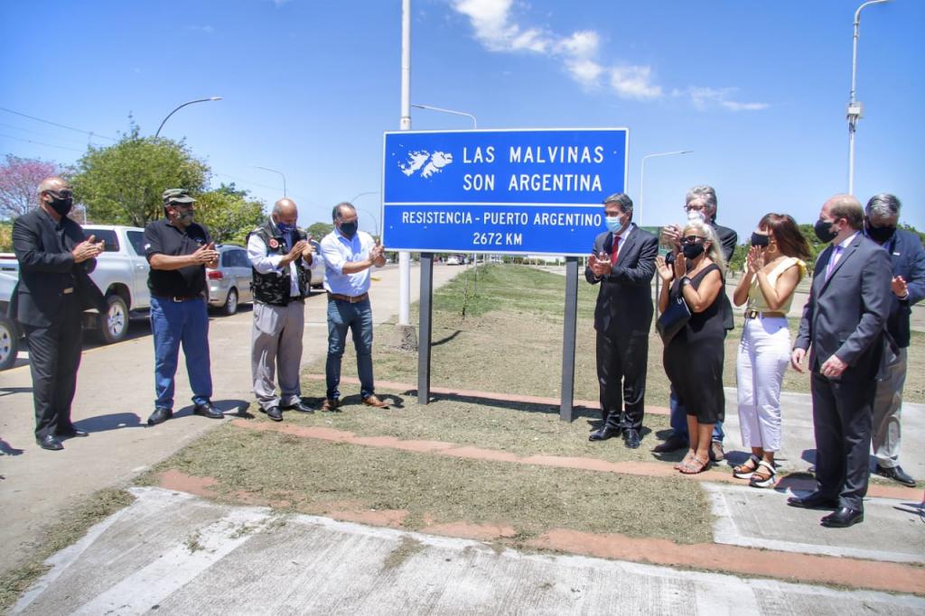 CHACO CONMEMORÓ LOS 200 AÑOS DEL PRIMER IZAMIENTO DE LA BANDERA ARGENTINA EN LAS ISLAS MALVINAS