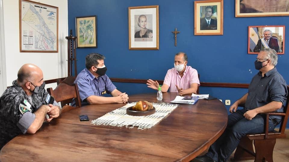 EL INTENDENTE PAPP COORDINA OPERATIVOS DE CONTROL DE MEDIDAS DE BIOSEGURIDAD EN COMERCIOS