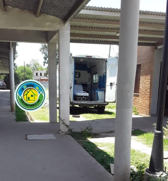 LA FALTA DE  AMBULANCIAS RETRASÓ EL TRASLADO DE UN ENFERMERO CON COVID POSITIVO