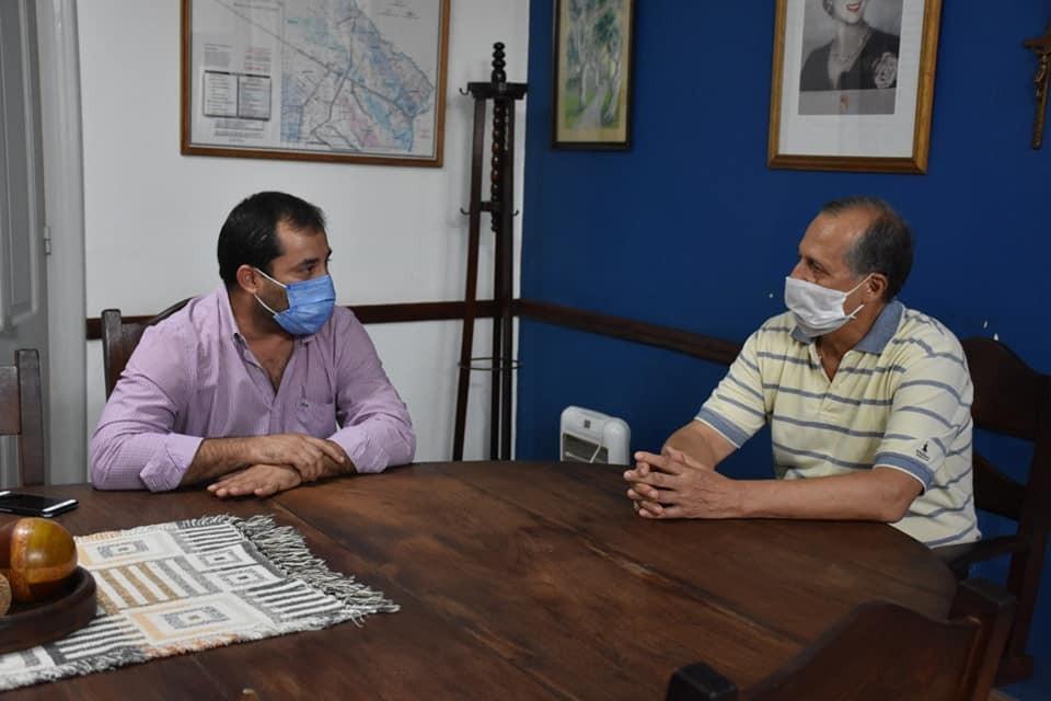EL INTENDENTE ADALBERTO PAPP RECIBIÓ AL MINISTRO DE INDUSTRIA SEBASTIAN LIFTON