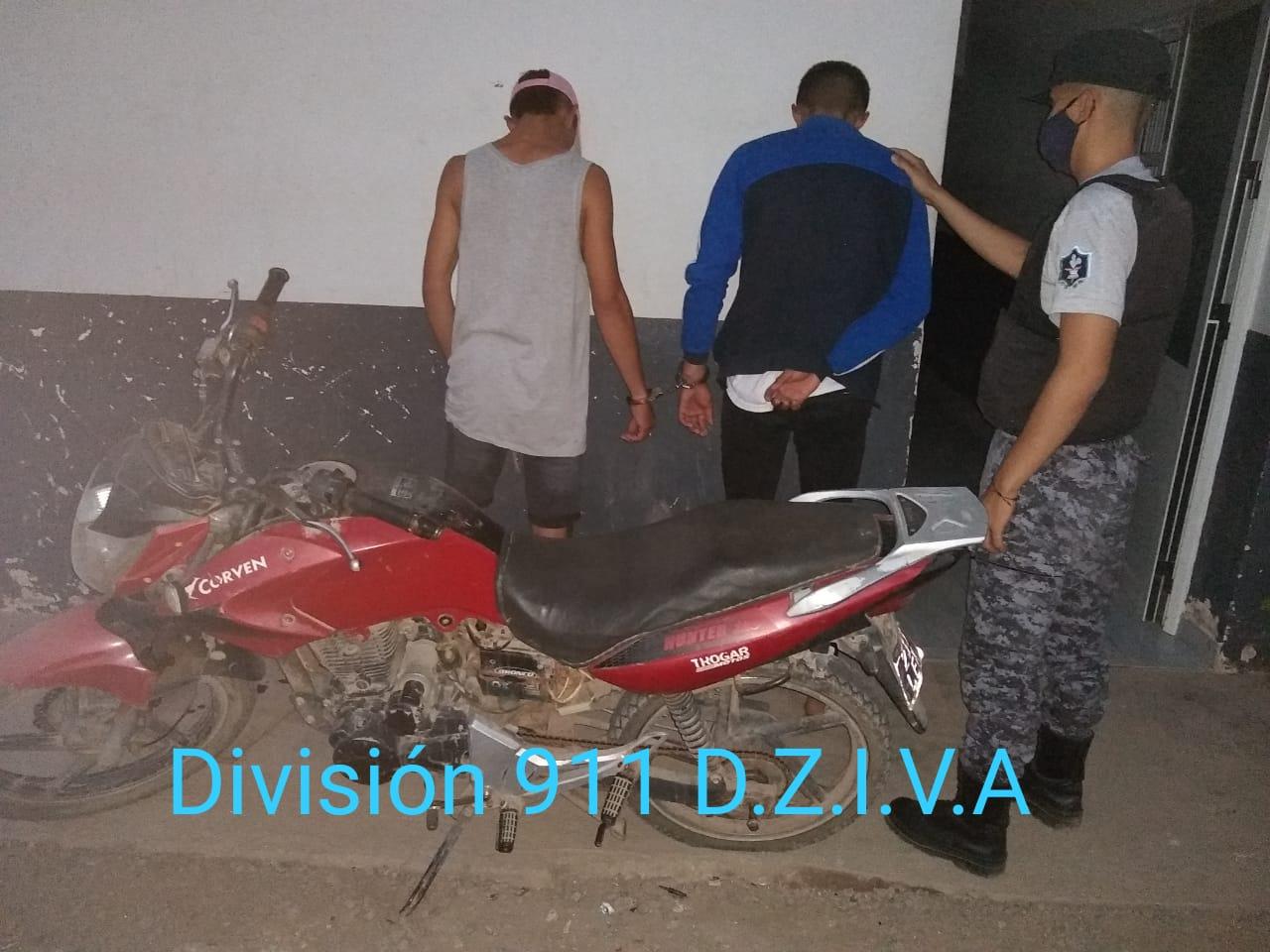 DIVISIÓN 911 DETUVO A LOS ARREBATADORES DE LOS $83.000