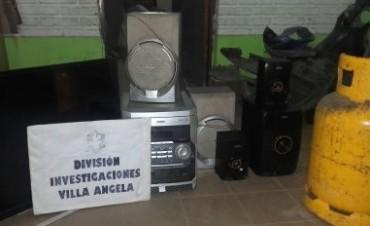 LE ROBARON BIENES DE SU HOGAR PERO LA POLICÍA LOS RECUPERÓ
