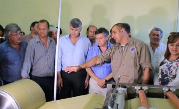 PAPP Y PEPPO RECIBIERON AL MINISTRO DE AGROINDUSTRIA DE NACION